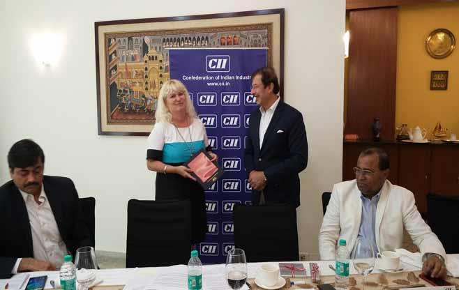 Austrian delegation to India
