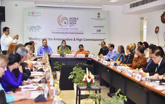 Meeting of Ambassadors &H.Commissioners