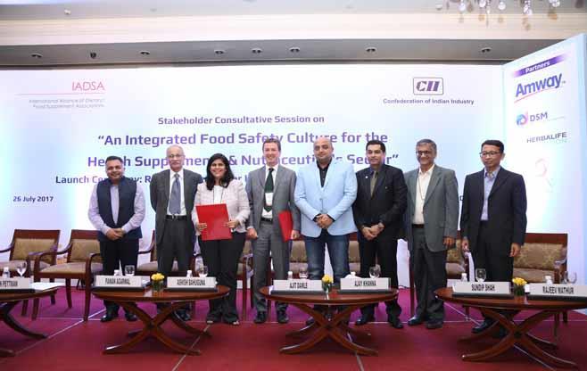 Signing of MoU between CII & IADSA