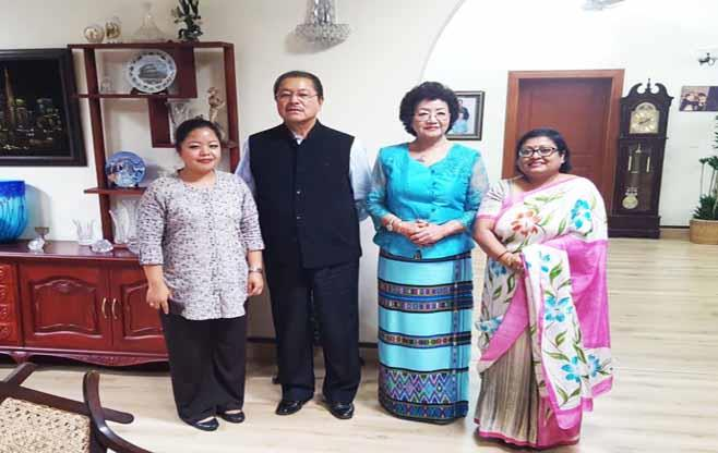 Meeting with Chief Minister of Mizoram