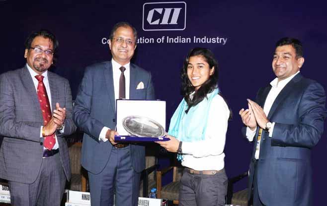 CII Felicitates Ms Nuzhat Parween,IWCT