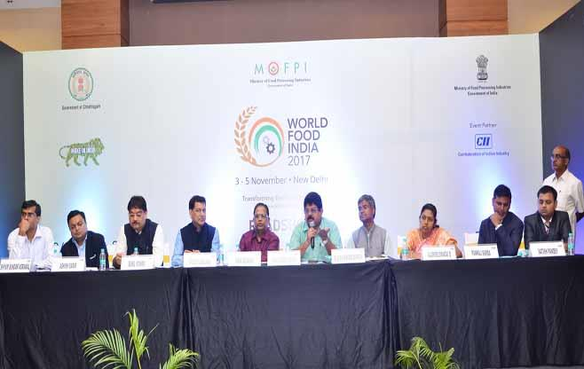 World Food India at Chattisgarh