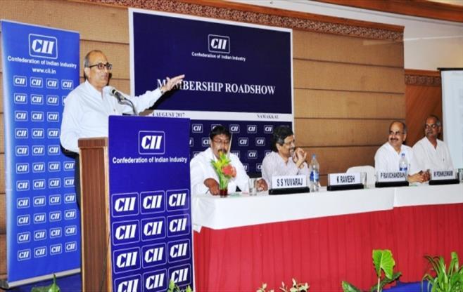 CII Membership Roadshow at Namakkal.