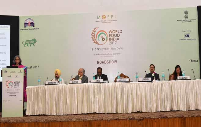 World Food India Roadshow in Shimla