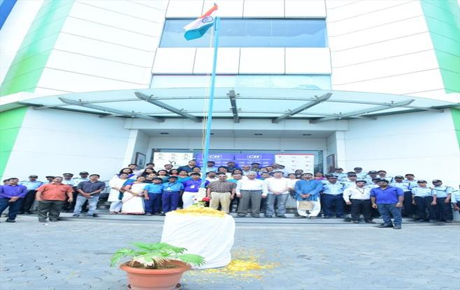 71st Independence Day at CII Cochin