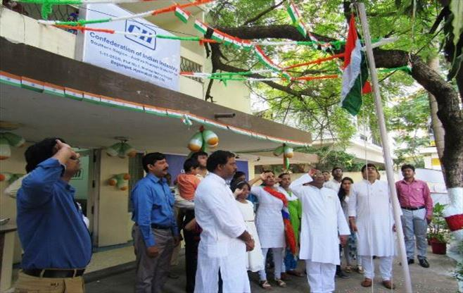 71st Independence Day in Telangana