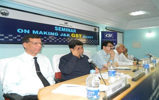 Seminar on Making J&K GST Ready