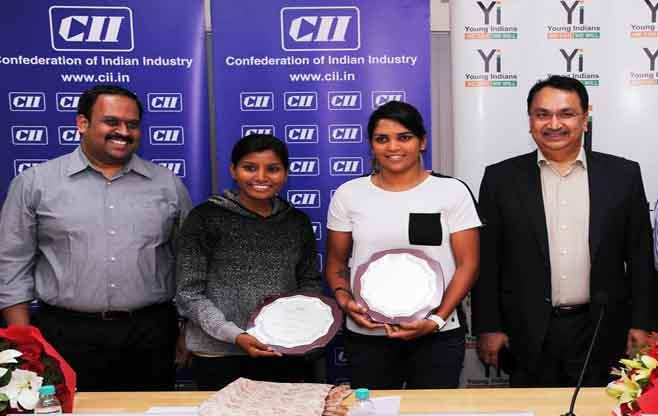 CII Felicitates Members of IWCT