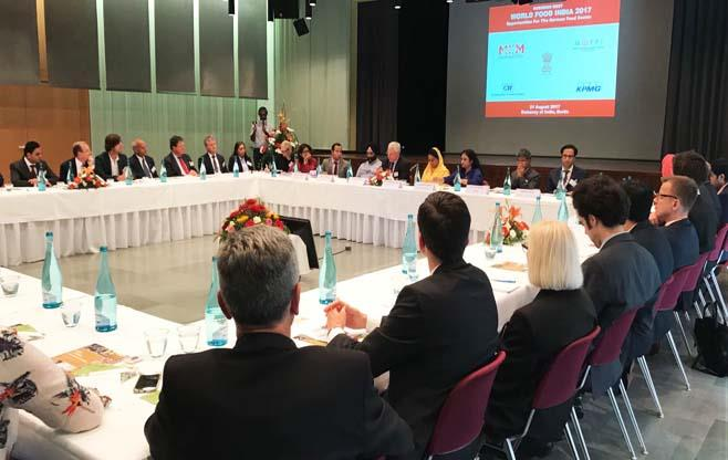 World Food India Roadshow in Germany