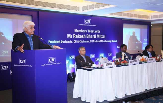 Meeting with CII Members