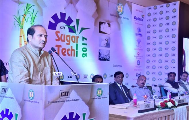 Mr Suresh Rana, Minister for Sugar, UP