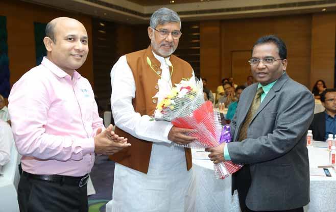 CII Felicitates Shri Kailash Satyarthi