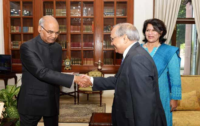 Meeting with President of India