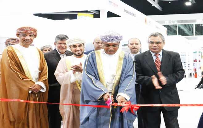 India Pavilion at Infra Oman 2017