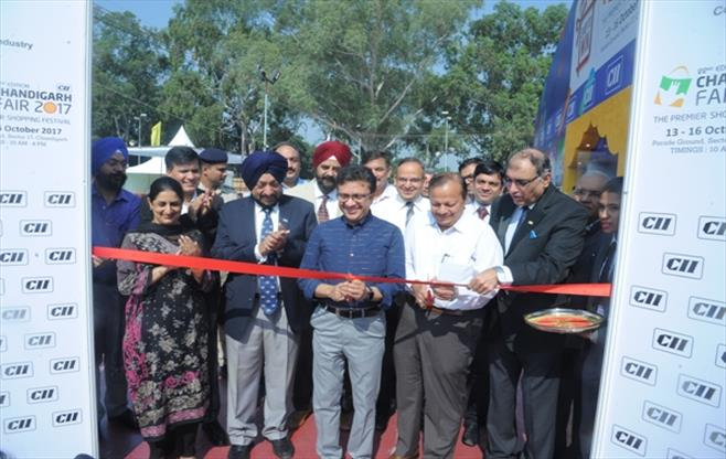 Inauguration of CII Chandigarh Fair