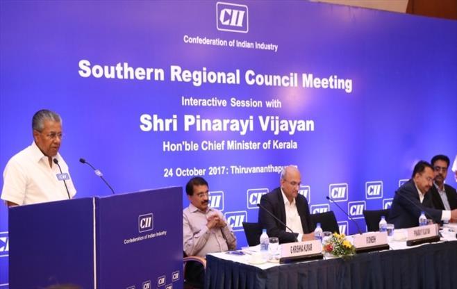 Interaction with Shri Pinarayi Vijayan