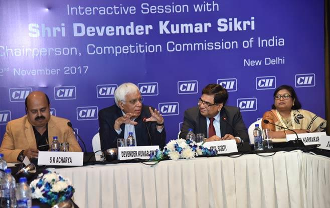 Interaction with CCI Chairperson