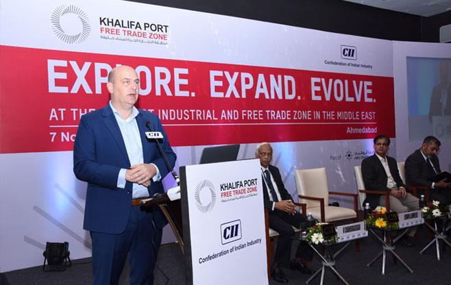 Launch of Khalifa Port Free Trade Zone
