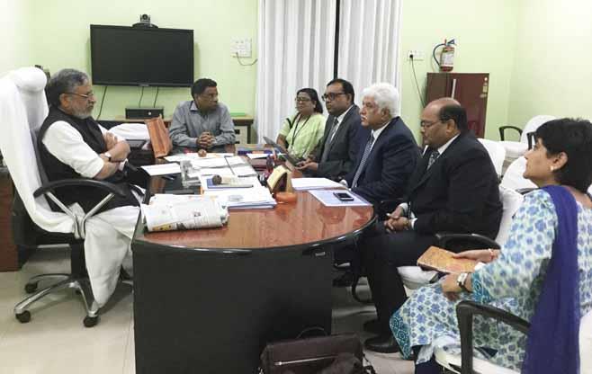 CII President-Designate meets Bihar DCM