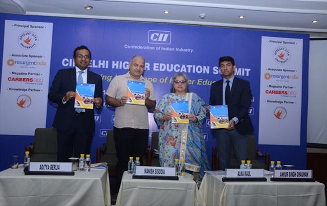 CII Delhi Higher Education Summit 2017