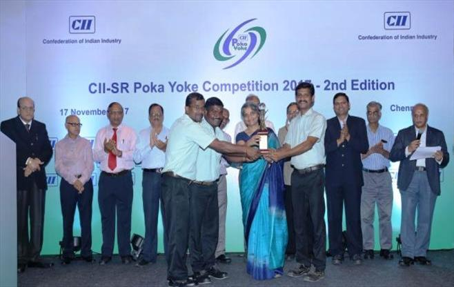 CII-SR Poka Yoke competition 2017