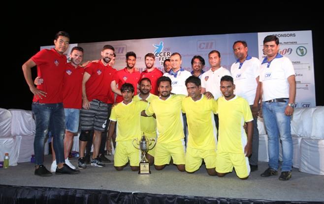 CII Goa Beach Soccer Fest 2017