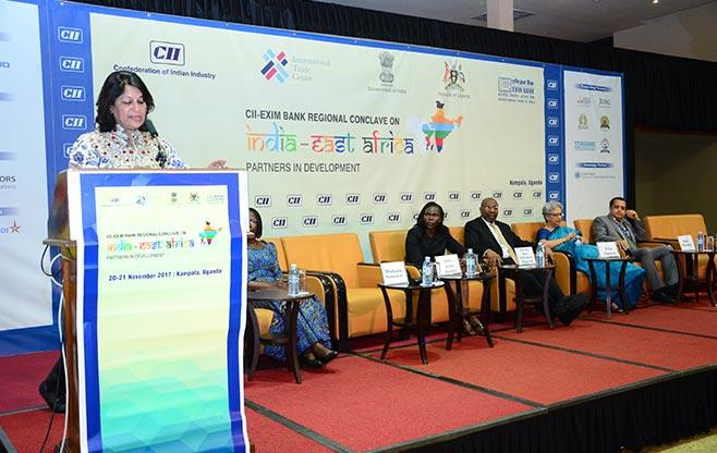 CII President at CII EXIM Bank Conclave