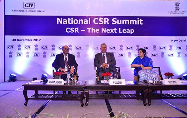 National CSR Summit 2017-The Next Leap
