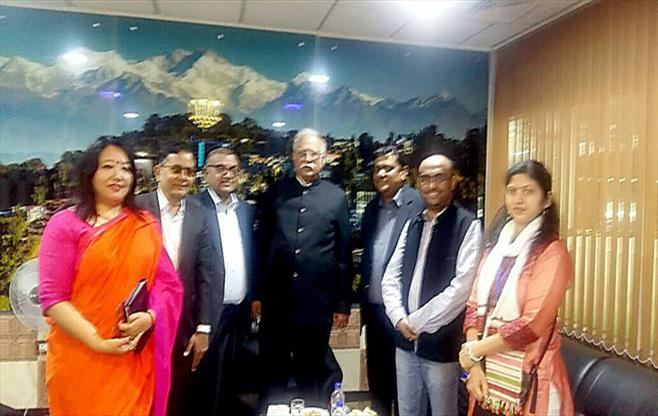Int with Union Civil Aviation Minister