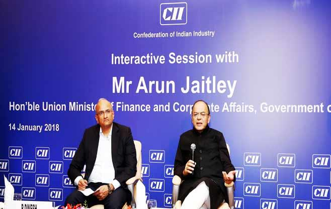 Session with Mr Arun Jaitley
