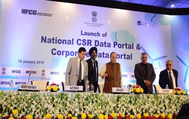 Launch of the Portals (CSR & Corporate)