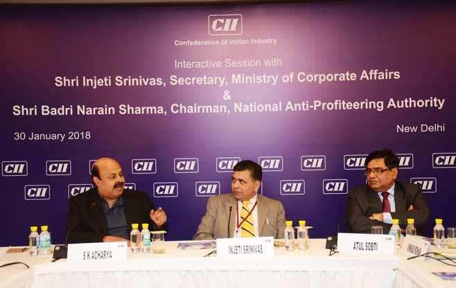 Interaction with Shri Injeti Srinivas