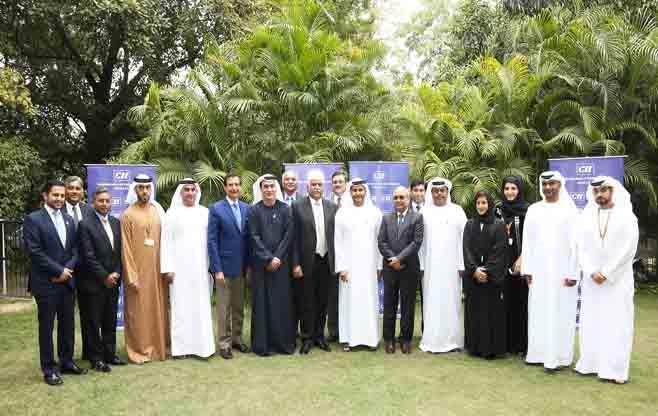 Delegation from Abu Dhabi