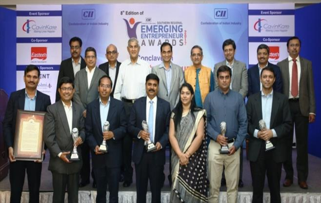 CII Emerging Entrepreneur Awards 2017