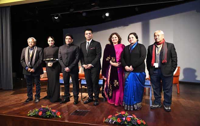 Indian delegation to Berlin