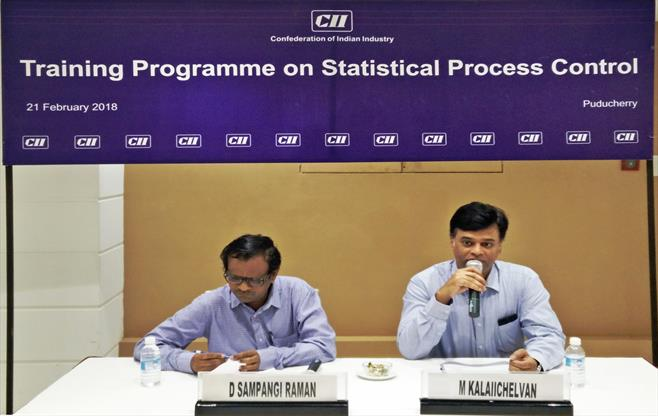 Programme on Statistical ProcessControl