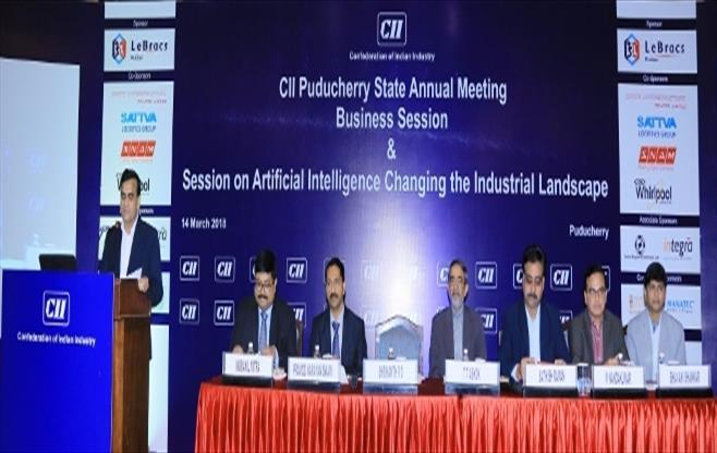 CII Puducherry Annual Meeting 2017-18