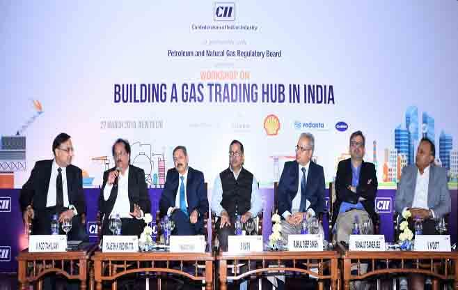 Building a Gas Trading Hub in India