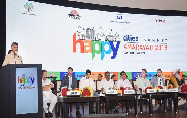 Happy Cities Summit at Amaravati, AP