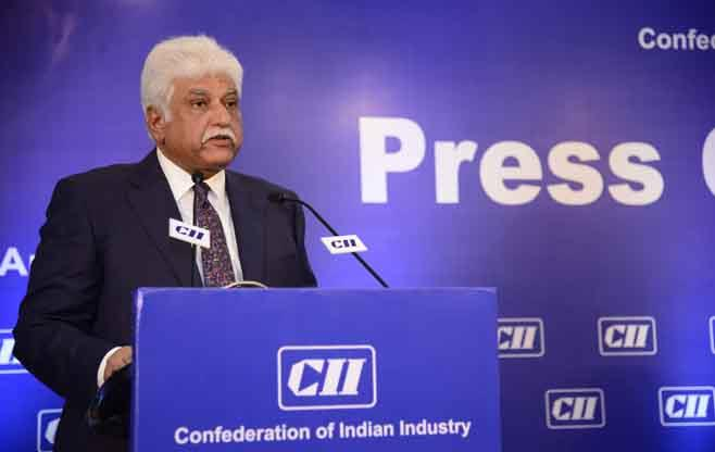 First Press Conference of CII President