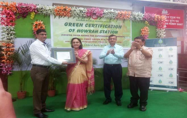 Howrah Railway Station goes green way