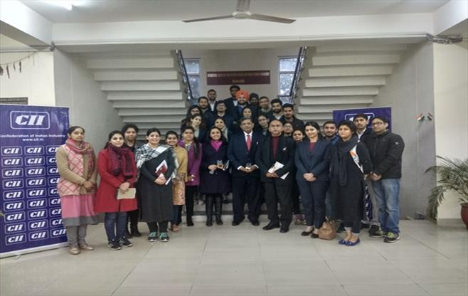 CEO Connect In Jammu University.