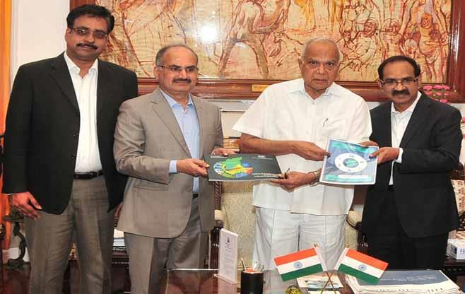 Meeting with Governor of Tamil Nadu