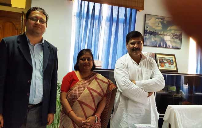 Meeting with Mr Sudip Roy Barman