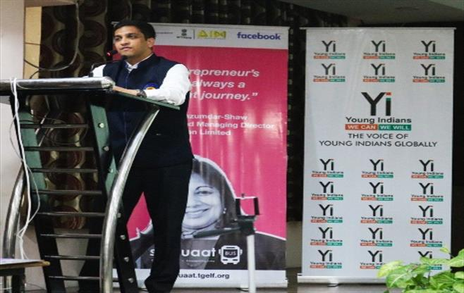 Yuva workshop by Yi Lucknow