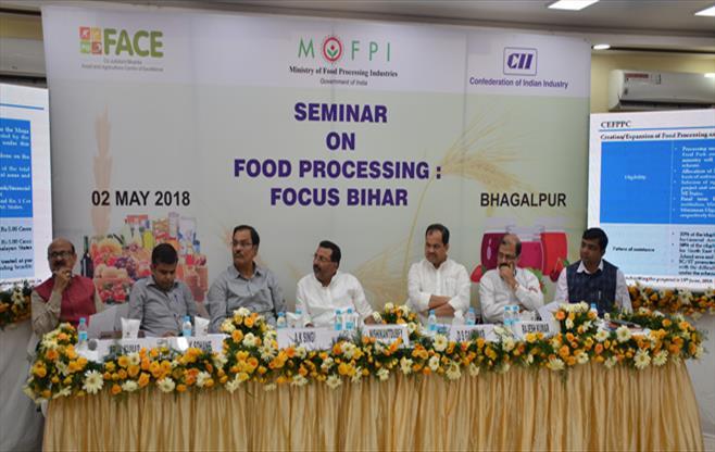 Seminar on Food processing: Focus Bihar