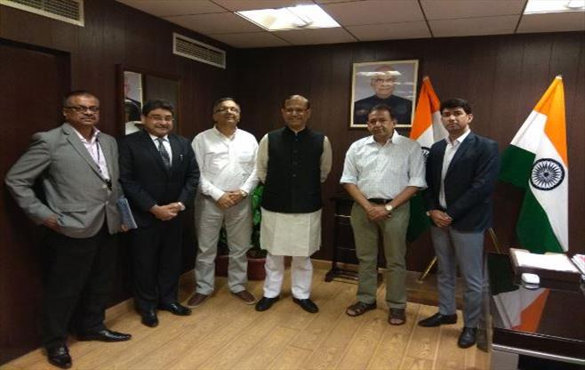 CII Delegation with Shri Jayant Sinha