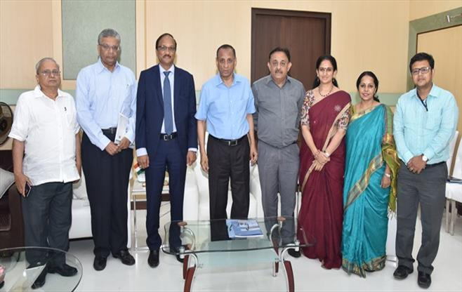 Meeting with Governor of Telangana