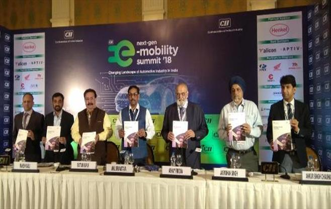 CII Next gen mobility Summit 2018