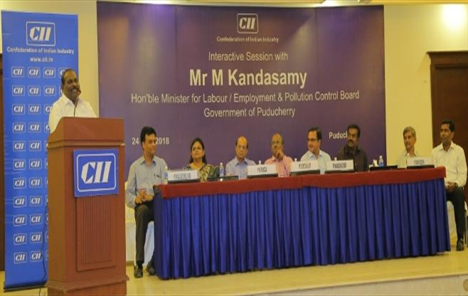 Interactive Session with Mr M Kandasamy